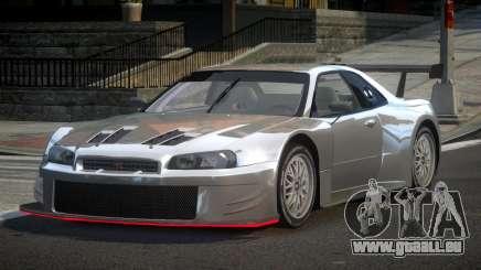 Nissan Skyline R34 G-Custom pour GTA 4