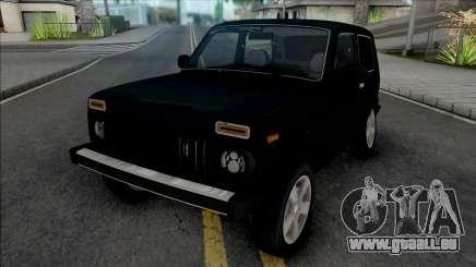 Lada Niva 2121 Black für GTA San Andreas