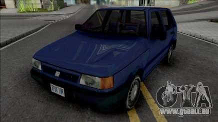 Fiat Uno 1995 Blue pour GTA San Andreas