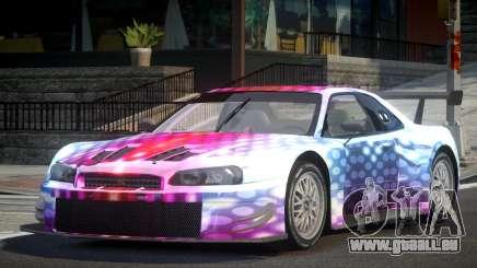 Nissan Skyline R34 G-Custom L8 pour GTA 4