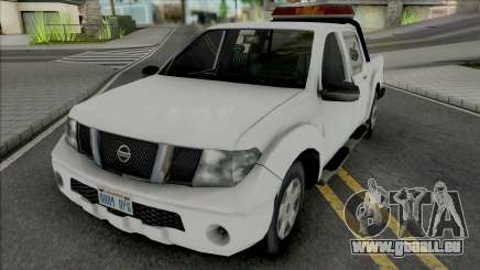 Nissan Frontier Tow Truck pour GTA San Andreas