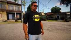 Batman T-Shirt (good textures) für GTA San Andreas