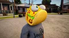 Fortnite Taco Mask For Cj für GTA San Andreas