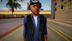 The Lost MC Biker V4 pour GTA San Andreas