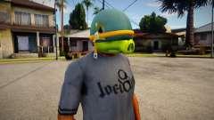 Coportal Pig Mask For Cj pour GTA San Andreas