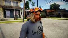 Fortnite Aviator Hat For CJ pour GTA San Andreas