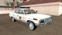 AMC Matador 1971 Shérif du comté de Hazzard