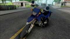 Kawasaki D-Tracker STD pour GTA San Andreas