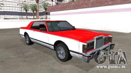 Vierge Continental Targa Version 2 pour GTA San Andreas