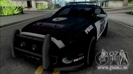 Ford Mustang Shelby GT500 Police pour GTA San Andreas