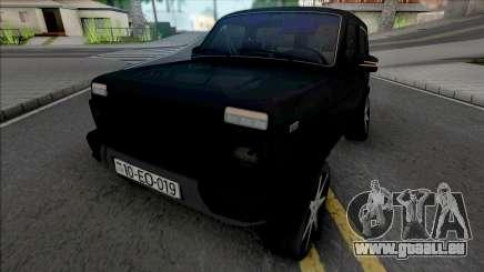 Lada Niva Urban (Boss 019) für GTA San Andreas