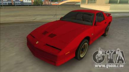 Pontiac Firebird Trans Am 1987 (HQ) pour GTA Vice City