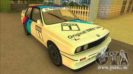 BMW M3 E30 DTM Group A pour GTA Vice City