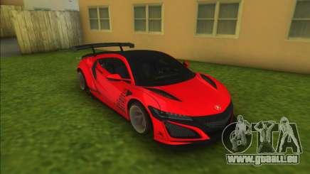 Acura NSX Liberty Walk pour GTA Vice City