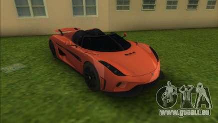 Koenigsegg Regera für GTA Vice City