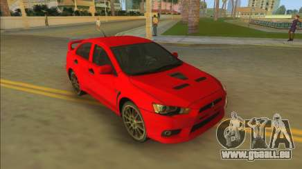 Mitsubishi Lancer Evolution X pour GTA Vice City