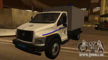 Gazon Next Autozac des Ministeriums für Innere Angelegenheiten von Odessa für GTA San Andreas