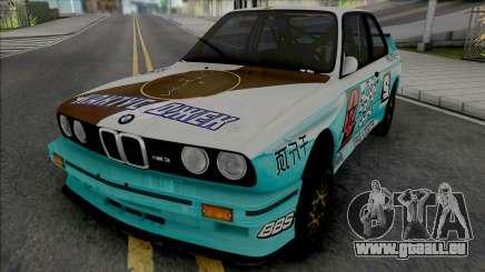 BMW M3 E30 1988 X Cactus Jack für GTA San Andreas