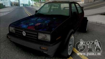 Volkswagen Jetta MK2 (Double Rear Wheels) pour GTA San Andreas