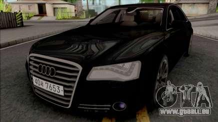Audi A8 [HQ] für GTA San Andreas