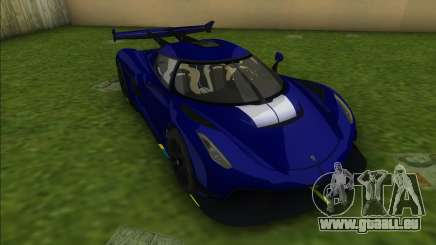 Koenigsegg Jesko für GTA Vice City