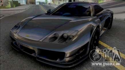 Noble M600 Street [IVF] für GTA San Andreas