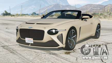 Bentley Mulliner Bacalar 2020〡add-on pour GTA 5