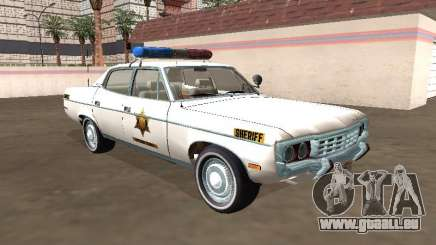 AMC Matador 1971 Hazzard County Sheriff für GTA San Andreas