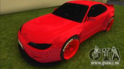 Nissan Silvia S15 Rocket Bunny pour GTA Vice City