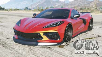 Chevrolet Corvette Stingray Mansaug (C8) 2020 pour GTA 5