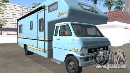 Ford Econoline E-200 1973 Camping-car pour GTA San Andreas
