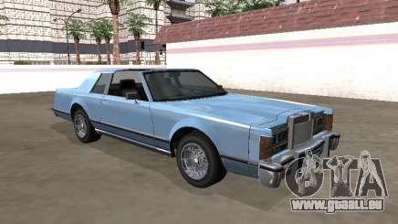 Vierge Continental Targa Version 1 pour GTA San Andreas