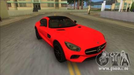 Mercedes-Benz AMG GT FBI pour GTA Vice City