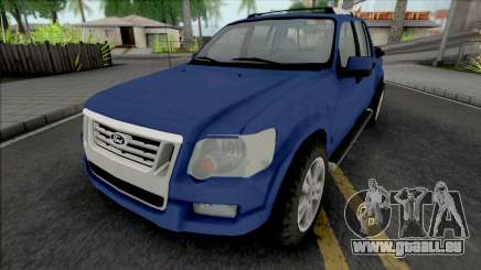 Ford Explorer Sport Trac Limited 2008 pour GTA San Andreas