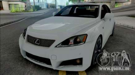 Lexus IS F from NFS Shift 2 pour GTA San Andreas