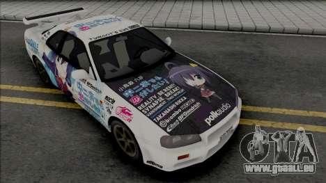 Nissan Skyline GT-R R34 1997 pour GTA San Andreas