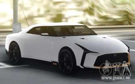 Nissan GT-R 50 für GTA San Andreas