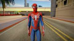 Spider-Man Advanced Suit from Spiderman PS4 pour GTA San Andreas