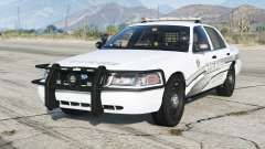 Ford Crown Victoria P71 Police Interceptor 2011〡Sheriff K-9 Unit [ELS]〡red & blue emergency lights pour GTA 5