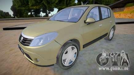Dacia Sandero 2008 James May pour GTA San Andreas