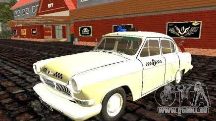 Gaz-21 Geshi und Lelika (Taxi) für GTA San Andreas