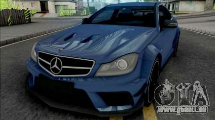 Mercedes-AMG C63 Black Series für GTA San Andreas