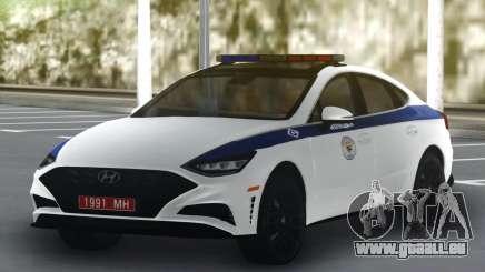 Hyundai Sonata Turbo Police pour GTA San Andreas