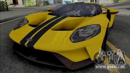 Ford GT (SA Lights) pour GTA San Andreas
