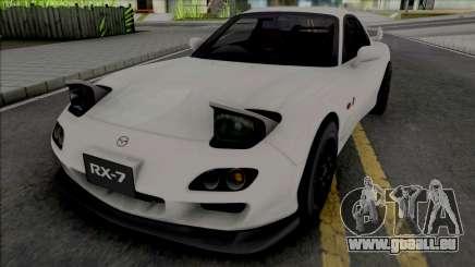 Mazda RX-7 Spirit R FD White pour GTA San Andreas