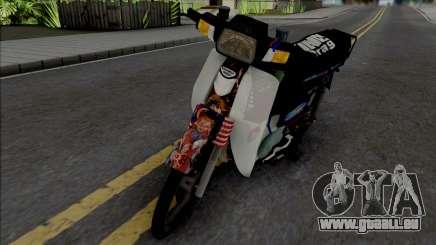 Honda EX5 Hitam für GTA San Andreas