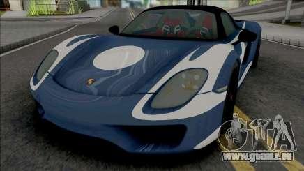Porsche 918 pour GTA San Andreas