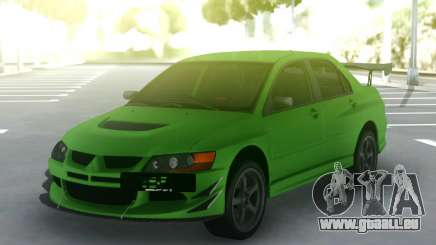 Mitsubishi Lancer Evo IX 06 pour GTA San Andreas