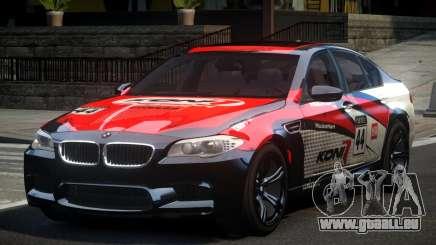 BMW M5 F10 PSI-R S4 pour GTA 4