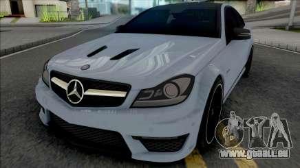 Mercedes-Benz C63 AMG Edition 2014 (SA Lights) für GTA San Andreas